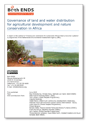 Governance of land