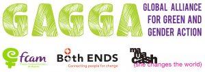 GAGGA Logo 30 inches x 11 inches